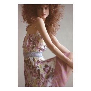 High Low Ruffled Summer Lilka Boho Dress M